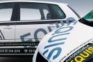 Rotulación coche autoescuela