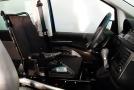Silla de ruedas adaptada a espacio conductor